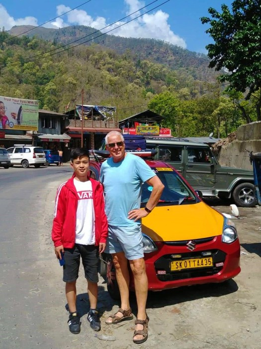 Driver from Gangtok